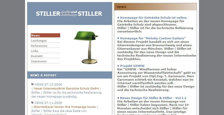 Stiller & Stiller – Agentur für Grafik und Webdesign