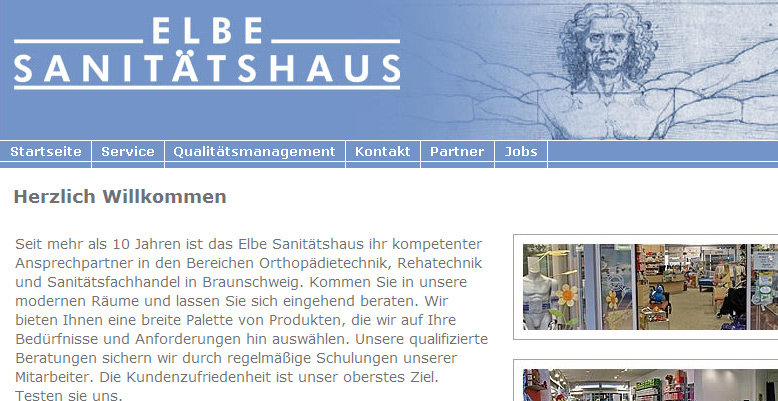 Projekt Elbe Sanitätshaus