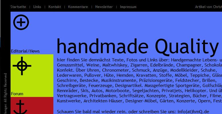 HandMadeQuality – Handgemachte Erzeugnisse