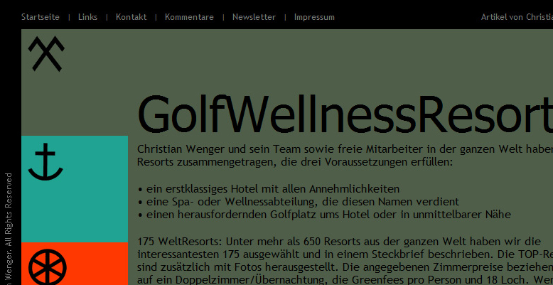 Projekt Golfwellnessresorts