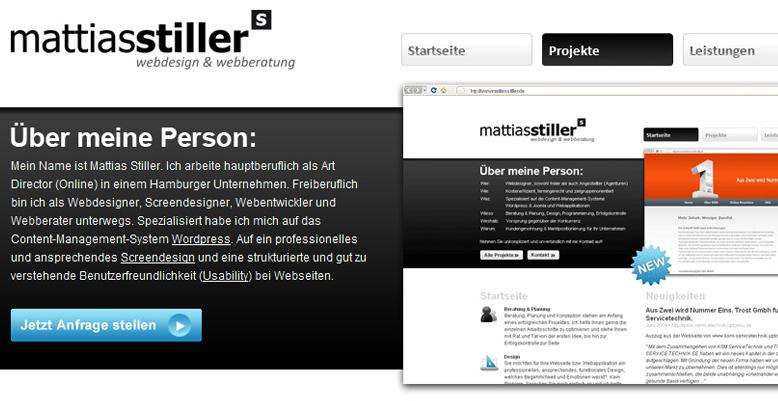 www.stillerundstiller.de wird zu www.mattiasstiller.de