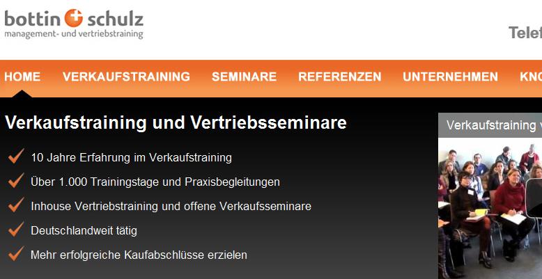 Relaunch für bottin+schulz GmbH aus Hamburg