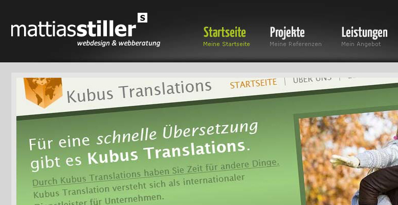Neue Wordpress – Website für Mattias Stiller
