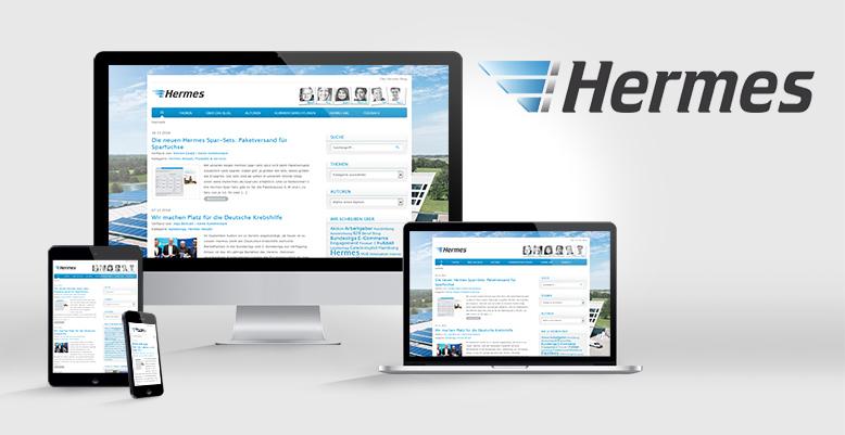 Das Hermes Blog – Offizieller Wordpress Blog