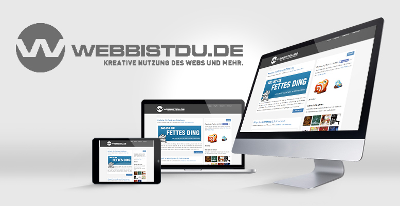 Projekt Webbistdu.de