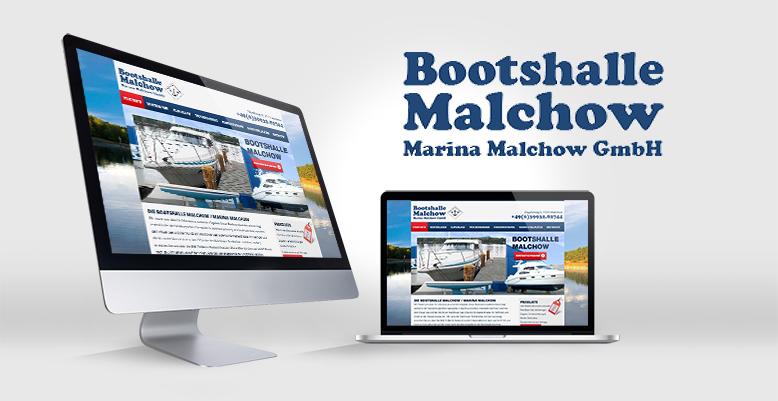 Bootshalle Malchow mit neuer Wordpress Webseite