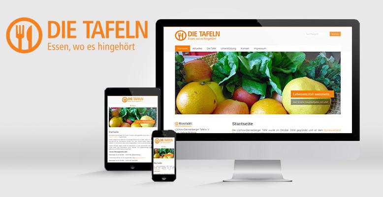 Tafel Lüchow Dannenberg e.V. bekommt einen Wordpress Relaunch