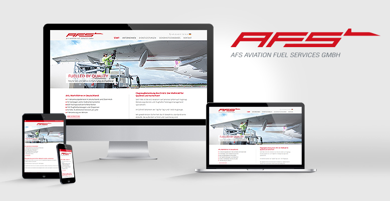 Relaunch für die AFS Aviation Fuel Services GmbH