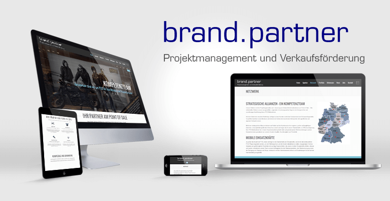Relaunch mit Wordpress für brand.partner