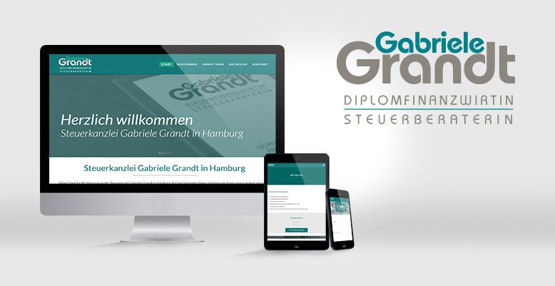 Kanzlei Grandt – Steuerbüro in Hamburg. Nun mit Wordpress