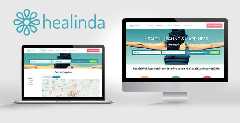 healinda Suchportal geht mit Wordpress online