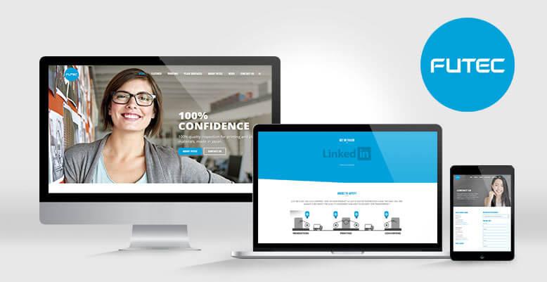 Wordpress Programmierung für FUTEC Europe GmbH