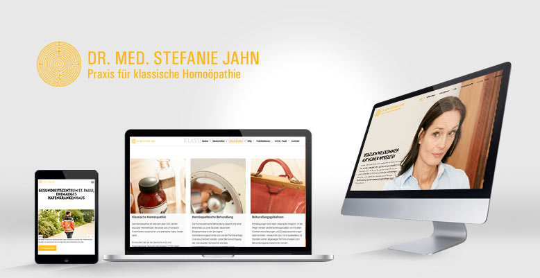 Neues Webdesign & Wordpress für Dr. med. Stefanie Jahn