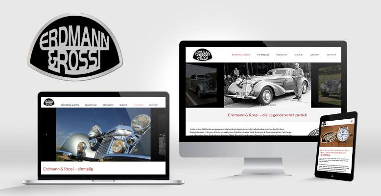 Erdmann & Rossi – die Legende kehrt zurück mit Wordpress