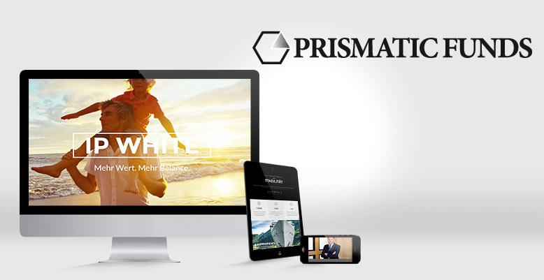 Wordpress Multisite & neues Design für die prismatic funds GmbH
