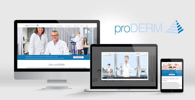Projektbild proDERM