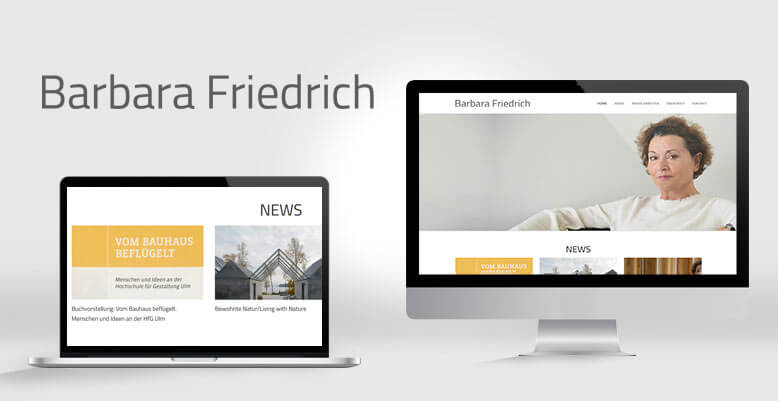 Neues Webdesign & WordPress für Barbara Friedrich