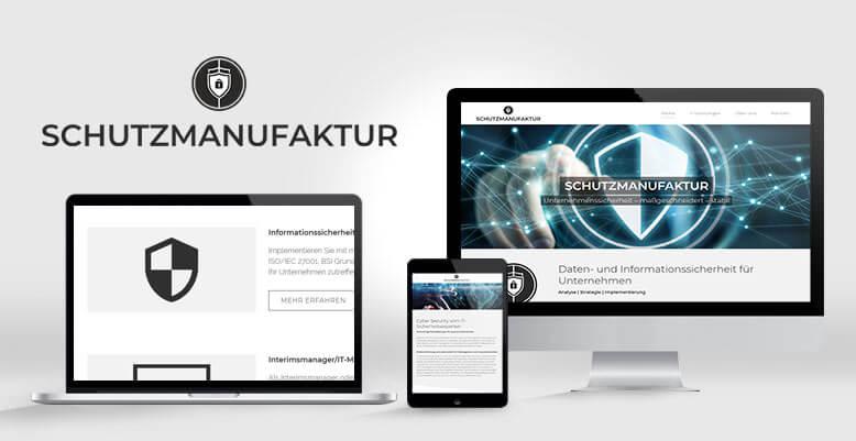 Schutzmanufaktur: Relaunch mit WordPress inkl. neues Webdesign