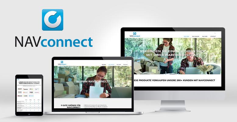 Wordpress für navconnect.de m+p business solutions GmbH