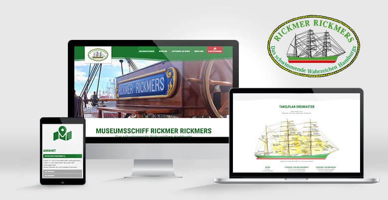 Vom Stapel gelassen: WordPress für das Museumsschiff Rickmer Rickmers