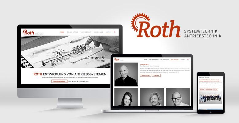 Antriebstechnik-Roth GmbH mit neuer WordPress Webseite