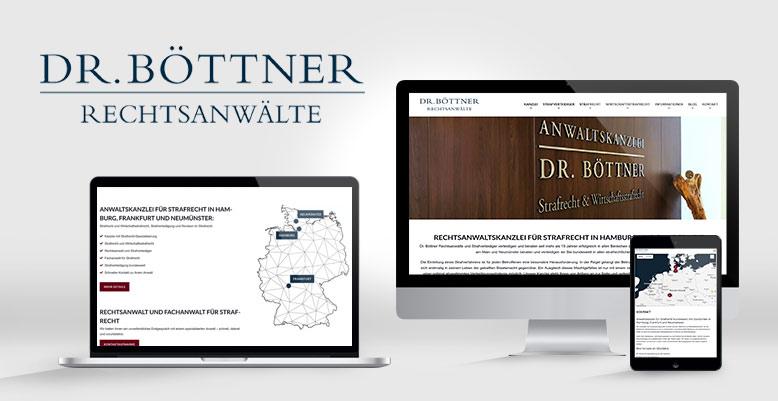 Wordpress Redesign: Rechtsanwalt für Strafrecht Dr. Böttner